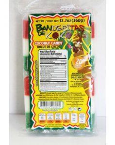 Banderita de koko mediana coconut candy 20pcs