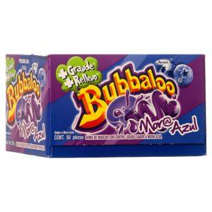 Bubbaloo de mora azul gum 50pcs