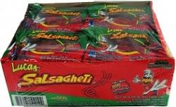 Lucas salsagheti sandia gusano 12pcs