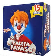 Paleta mini Payaso 15pcs