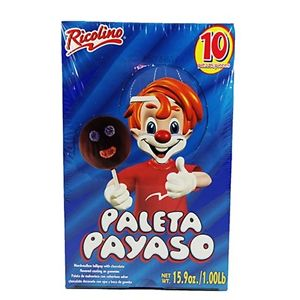 Paleta payaso 10pcs
