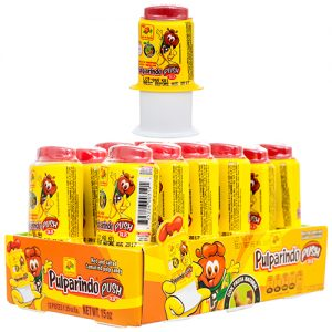 Pulparindo push mango 12pcs