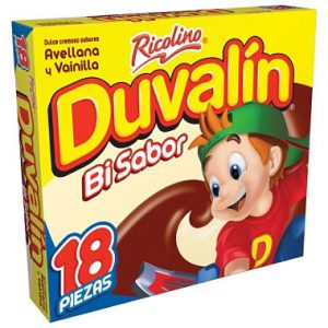 Duvalin avellana y vainilla 18pcs